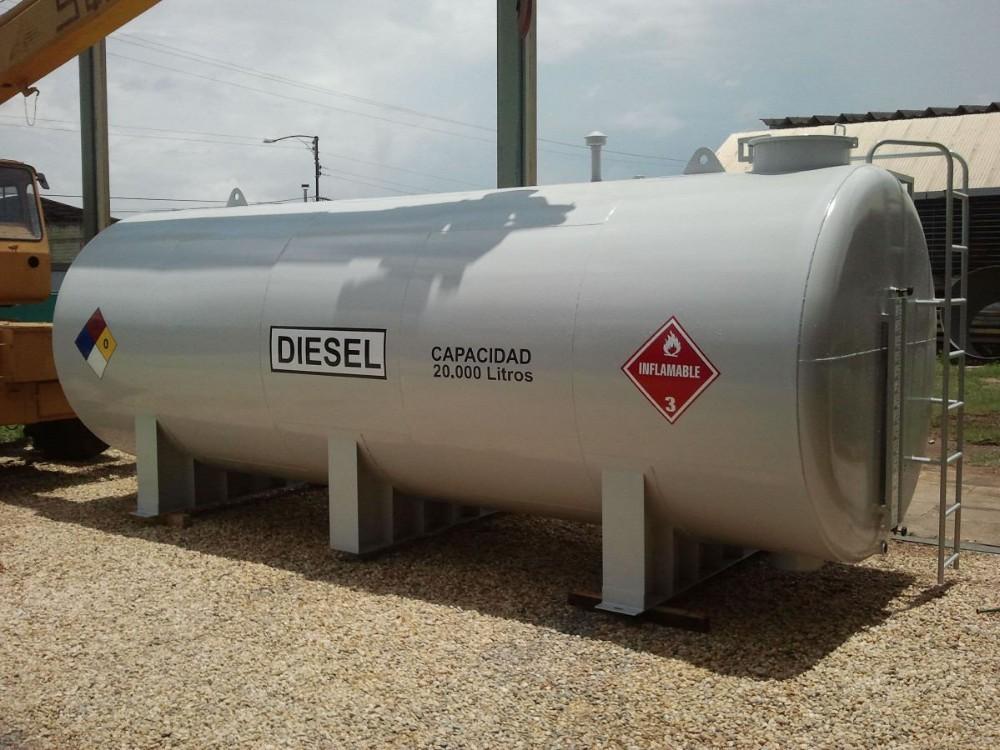 Depósito de gasoil en Valencia