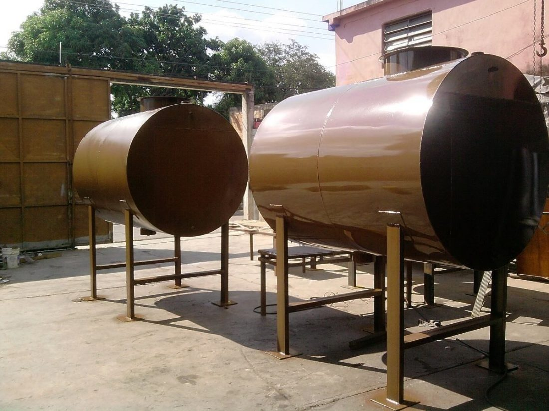 Gasoil para maquinaria industrial