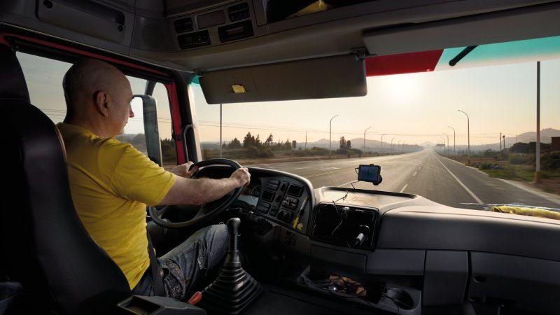 Lubricantes Shell para camiones