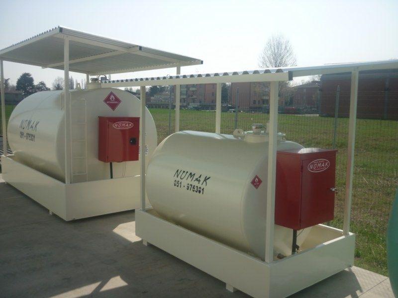 Legalización tanque gasoil. Depósitos de gasóleo