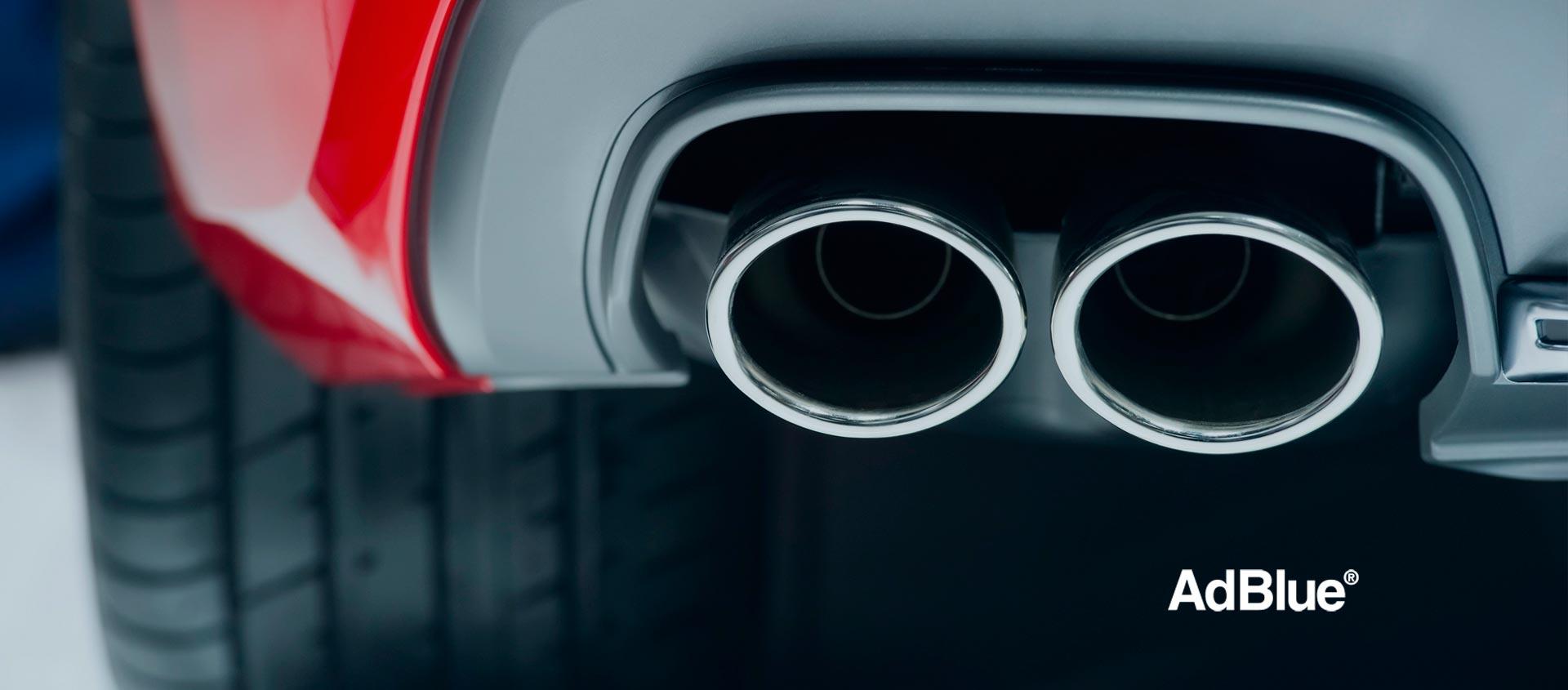 Añade AdBlue® a tu vehículo para mejorar tu motor y el medio ambiente