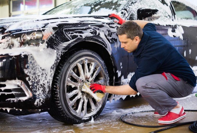 lavado coches en Valencia