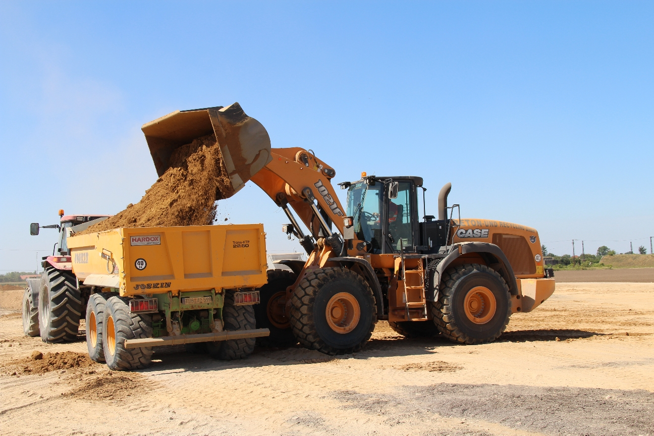 Gasoil para maquinaria de construcción