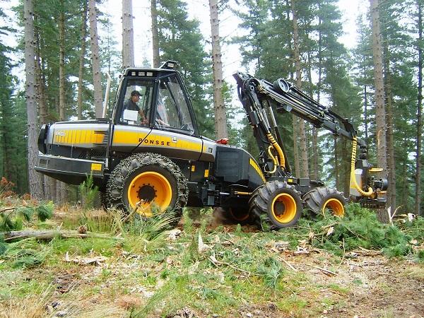 Gasoil para el sector forestal
