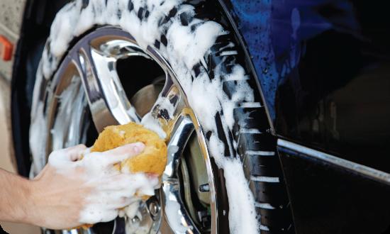 Lavadero de coches a mano