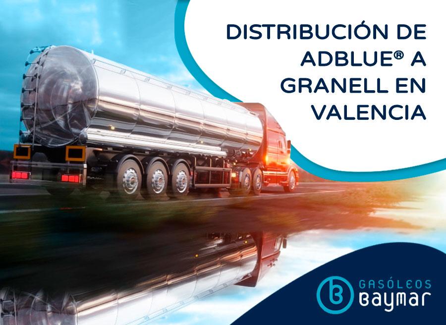Distribución de AdBlue® en Valencia