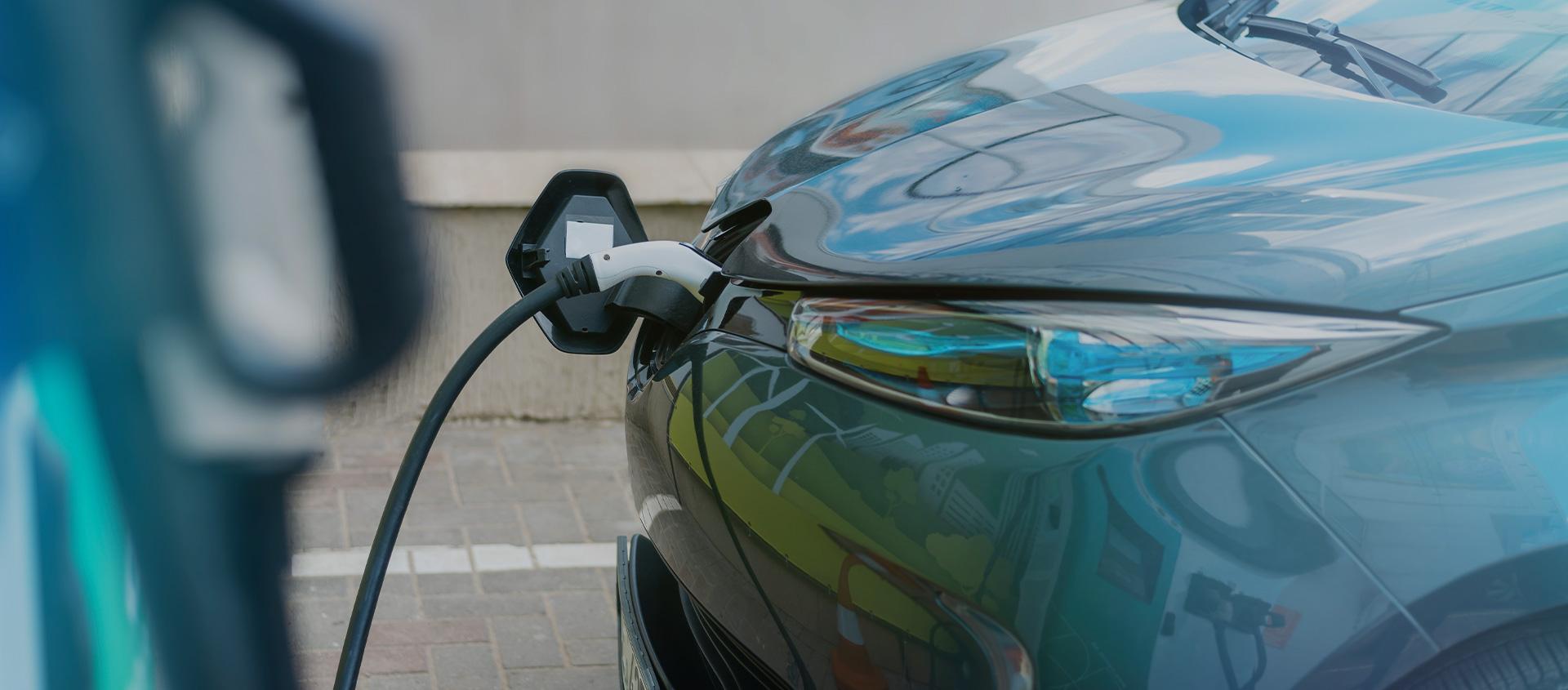 Punto de carga para vehículos eléctricos